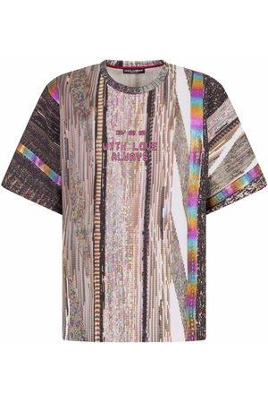 Dolce & Gabbana Graphic-print short-sleeve T-shirt