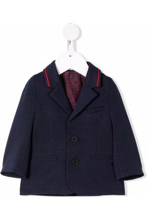 BOSS Kidswear Piped trim blazer