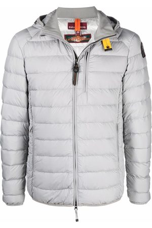 Parajumpers Quilted-finish puffer jacket - Grey