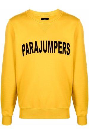 Parajumpers Men Sweatshirts - Logo crew-neck sweatshirt