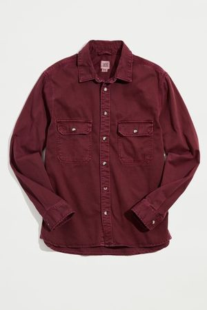 BDG Washed Twill Long Sleeve Work Shirt