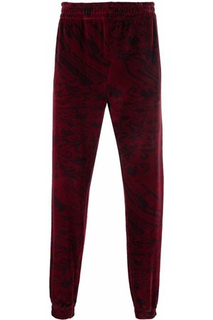Etudes Men Sweatpants - Major velvet track pants