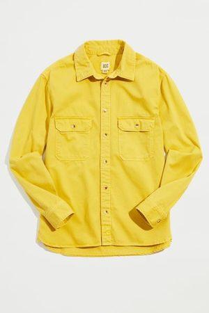 BDG Men Long sleeves - Washed Twill Long Sleeve Work Shirt
