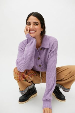 BDG Zephyr Pullover Polo Sweater