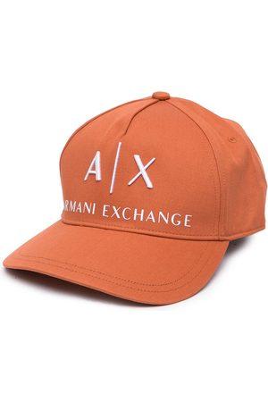 Armani Logo lettering cap