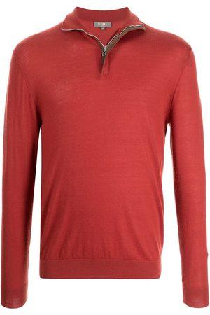 N.PEAL Men Sweatshirts - The Regent half-zip jumper