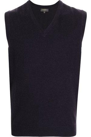 N.PEAL V-neck cashmere vest