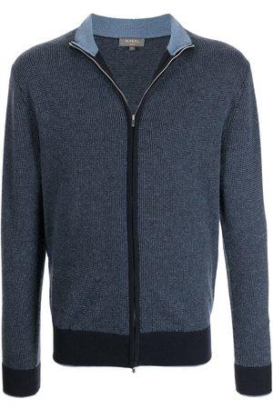 N.PEAL Long sleeve zipped sweater