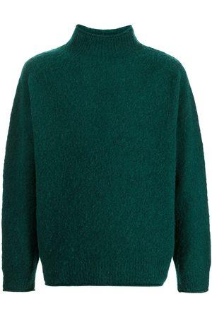 YMC Men Turtlenecks - High neck knitted jumper