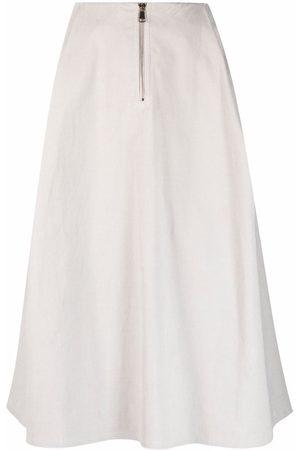 SOFIE D'HOORE Women Midi Skirts - Seoul high-waist midi skirt - Grey