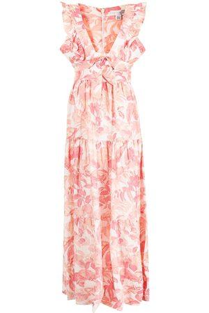 Rebecca Vallance Tropical maxi dress