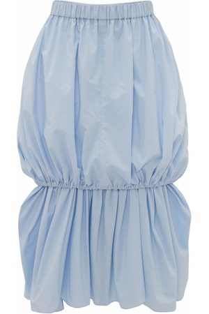 J.W.Anderson Women Asymmetrical Skirts - Ruched-detail layered skirt