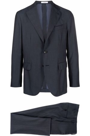 Boglioli Men Suits - Fitted single-breasted suit