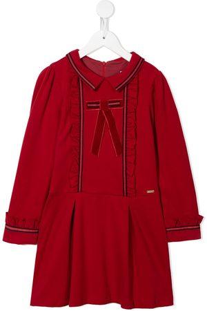 PATACHOU Girls Casual Dresses - Ribbon detail flared dress