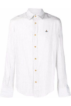 Vivienne Westwood Pinstripe-pattern long-sleeve shirt