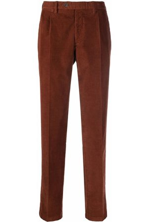LARDINI Men Skinny Pants - Corduroy slim-fit trousers