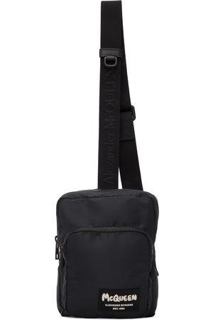 Alexander McQueen Black Tag Crossbody Camera Bag