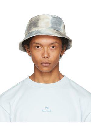 Paul Smith Men Hats - Black Dip-Dye Bucket Hat