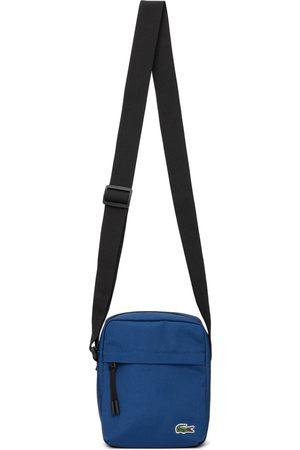 Lacoste Men Luggage - Blue Canvas Neocroc Bag