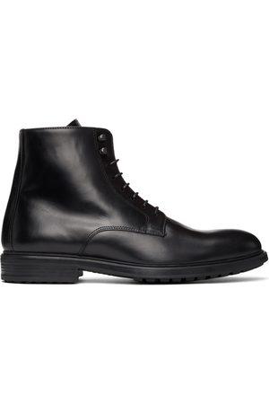 OFFICINE GENERALE Men Lace-up Boots - Leather Dimitri Lace-Up Boots