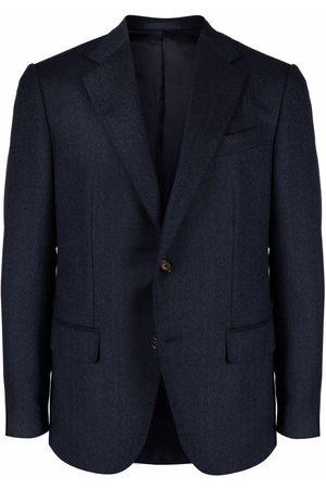 CARUSO Single-breasted wool blazer