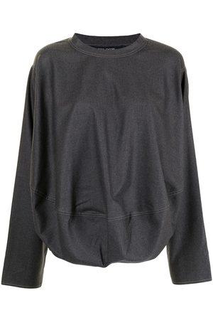 SOFIE D'HOORE Puffball wool sweatshirt - Grey