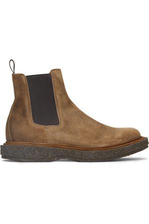 Officine creative Men Chelsea Boots - Brown Suede Bullet 2 Chelsea Boots
