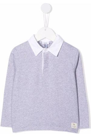 KNOT Long-sleeved polo shirt - Grey