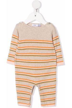 KNOT Jumpsuits - Newborn knitted jumpsuit - Neutrals