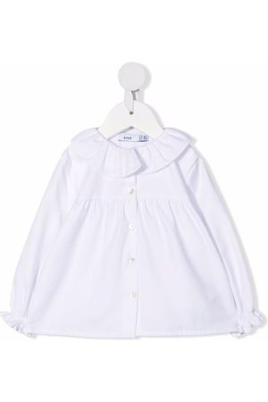 KNOT Baby Blouses - Ruffle collar blouse