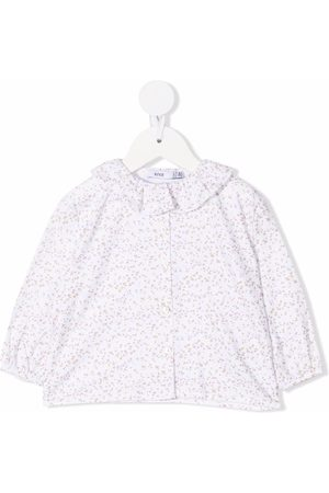 KNOT Baby Blouses - Soft Flowers cotton blouse