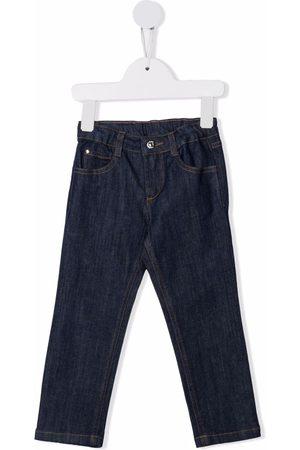 KNOT Girls Straight - Straight-leg cotton jeans
