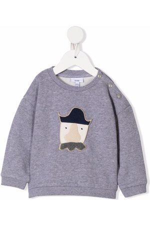 KNOT Terry Baby Pirate long-sleeve sweatshirt - Grey