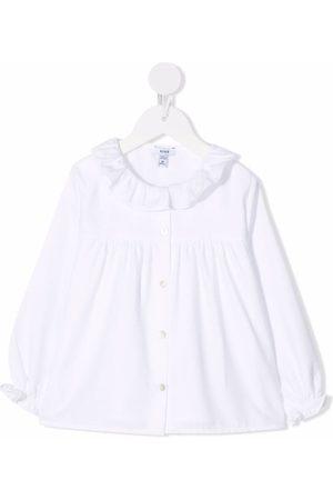 KNOT Girls Blouses - Ruffle collar blouse