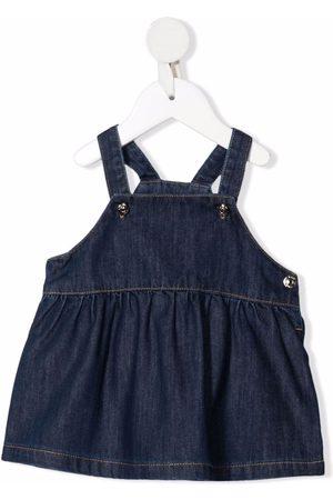 KNOT Baby Casual Dresses - Denim pinafore dress