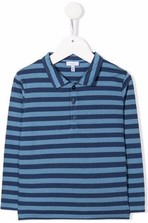 KNOT Boys Polo Shirts - Murugan striped longsleeved polo shirt