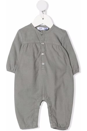 KNOT Bodysuits & All-In-Ones - Grey cotton babygrow