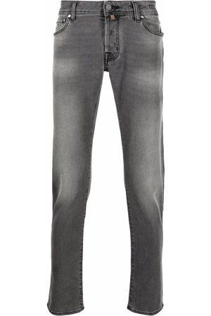 Jacob Cohen Mid-rise straight-leg jeans - Grey
