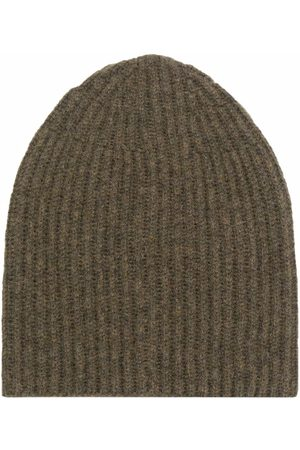 Roberto Collina Ribbed knitted beanie