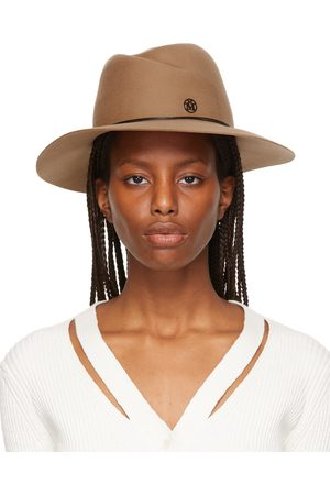 Le Mont St Michel Brown Felted Wool Fedora