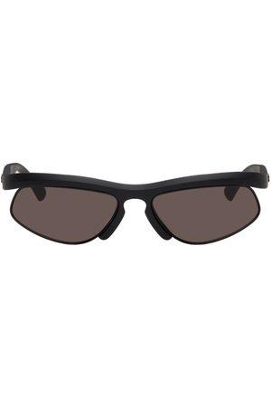 Bottega Veneta Men Sunglasses - Black Matte Cat-Eye Sunglasses