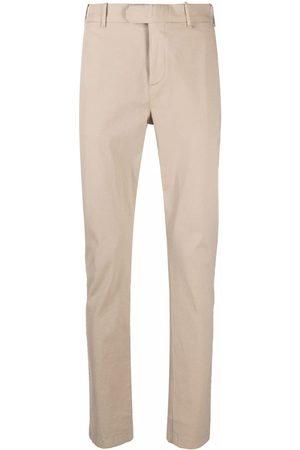 ELEVENTY Men Chinos - Slim-fit cotton chinos - Neutrals