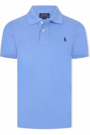 Ralph Lauren Boys Polo Shirts - Polo Pony cotton polo shirt