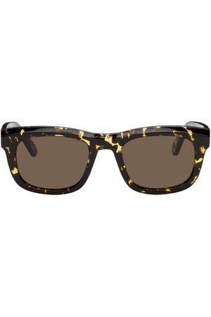 HAN Kjøbenhavn Yellow & Tortoiseshell National Sunglasses