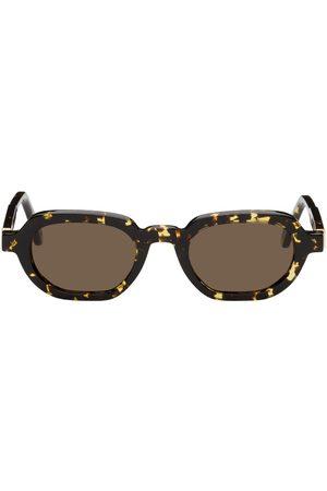 HAN Kjøbenhavn Yellow & Tortoiseshell Banks Sunglasses