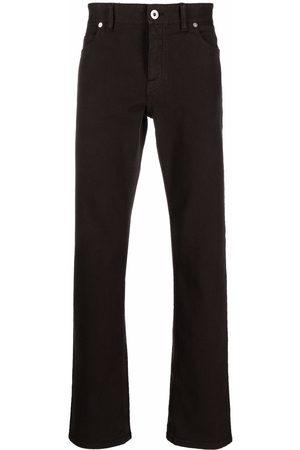 BRIONI Straight leg cotton jeans