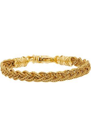 EMANUELE BICOCCHI Men Bracelets - Gold Braided Bracelet