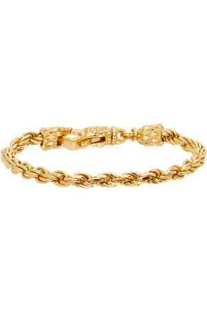 EMANUELE BICOCCHI Men Bracelets - Gold French Rope Bracelet