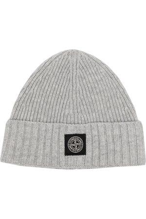 Stone Island Boys Beanies - Beanie hat - Grey