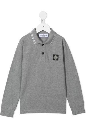Stone Island Long-sleeve polo shirt - Grey